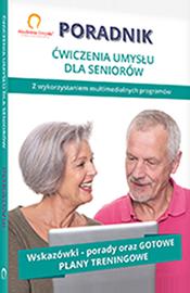 Poradnik Akademia Umysłu Senior zawiera wskazówki specjalistów, jak ćwiczyć pamięć, aby zapobiegać problemom, jak skleroza czy zaniki pamięci